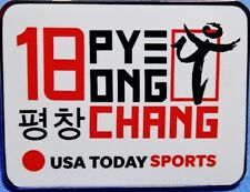 2018 PyeongChang USA Today Sports Olympic Media Pin