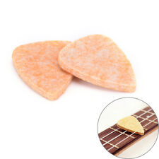 4x Ukulele Soft Felt Picks Plectrum Personalized Ukelele Accessories KY