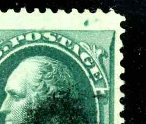 EFO 147 USED VF WITH PLATE FLAW (DOT) IN TOP MARGIN