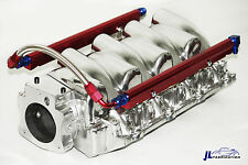 Chevy Qualifier LS1 & LS6 96MM Polished Aluminum Intake w/ Fuel Rails GM