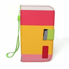 Colorful PU Leather Wallet Flip Case Cover for Samsung Galaxy S3 III I9300 80705