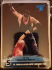 2013 Topps Best of WWE Top Ten Undertaker Matches #5 Vs. Stone Cold Steve Austin