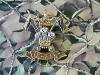 9th / 12th Royal Lancers Cap Badge Queens Crown