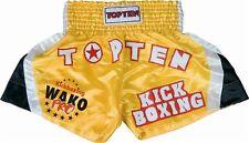 """Thaiboxen, Kickboxen Hose """"WAKO PRO"""" Kickboxhose von TOP TEN. Gr.S - XXL in gelb"""