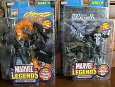 Toybiz Marvel Legends- Ghost Rider & Punisher Combo NEW, SEALED