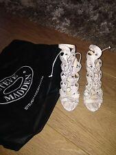 BRAND NEW STEVE MADDEN Snake Print Heels Size 7