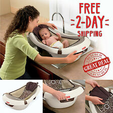 Newborn Bath Tub Baby Sling Seat Chair Support Calming Vibration Infant Toddler