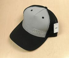Audi Collection Zig Zag Stitch Cap Hat ACM-448-5