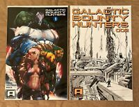 RARE: GALACTIC BOUNTY HUNTERS #1 + #2 - PAUL GREEN KICKSTARTER EXCLUSIVE SET