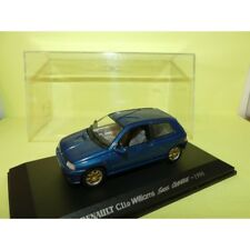 RENAULT CLIO WILLIAMS Swiss Champion 1996 Bleu UNIVERSAL HOBBIES Collection M6 1