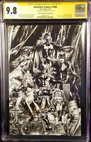 DETECTIVE COMICS #1000 CGC SS 9.8 ANACLETO SKETCH VARIANT BATMAN CATWOMAN HARLEY