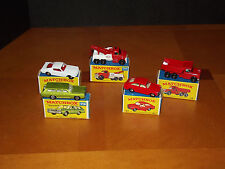 Early Lesney  MatchBox  small collection NIB/  Estate Sale
