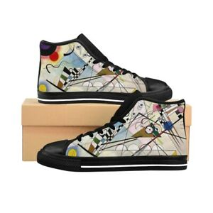 Men's High-top Sneakers - Composition Viii, Wassily Kandinsky