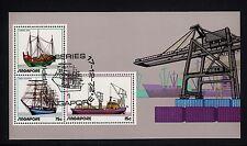 101347/ Singapur 1972 - Bl. 4 - Schiffe - o - M€ 60,00