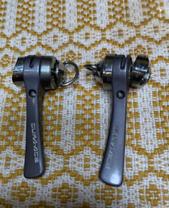 Shimano Dura Ace SL 7402 Downtube 8 Speed SIS Shift Levers