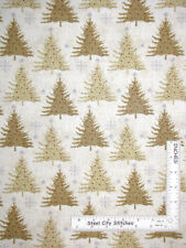 Pine Trees Christmas Village Studio E Quilt Fabric by the 1//2yd