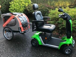 Mobility Scooter Large Dog Trailer