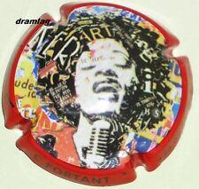 Capsule de Champagne:  Extra !!!  DEVAVRY Bertrand , n° 11h , chanteuse jazz !!!