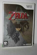 THE LEGEND OF ZELDA THE TWILIGHT PRINCESS USATO NINTENDO Wii ED UK PAL VBC 51879