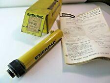 Enerpac Rw 55 Hydraulic Cylinder 5 Ton 5 Inch Stroke Workholding New Rw55