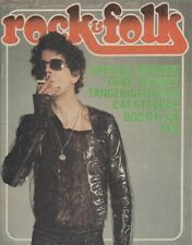 """ROCK & FOLK n°109 février 1976"" Lou REED (Photo Mick ROCK)"
