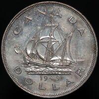 1949 | Canada George VI Dollar | Silver | Coins | KM Coins