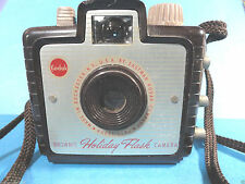Vintage Brownie Holiday Flash Bakelite Camera