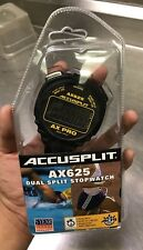 ACCUSPLIT AX625 PRO Cumulative/Lap Split Stopwatch New And Sealed