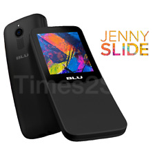 BLU Jenny Slide Unlocked 2G Dual Sim VGA Camera Cellphone Keyboard New