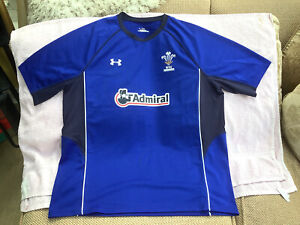 Under Armour Wales Rugby Union Training T-Shirt Size XL Brand New Without Tags
