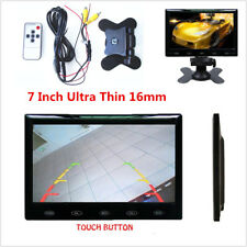 7Inch Ultra Thin TFT LCD HD Screen Car Rear View Reverse Parking Display Monitor