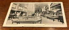 B&W 1909 Cowell & Hubbard 605 Euclid Ave. Cleveland Ohio Advertising Postcard
