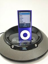 Apple iPod Nano 4th Generation Purple (8GB) Mint condition JBL iHome Speaker Lot