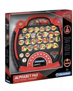 Disney Pixar Cars 3 Toy Alphabet Pad Electronic Learning Pad Toy Educational New
