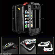 Dust & Waterproof Shockproof Aluminum Gorilla Metal Cover Case for iPhone 5 5S