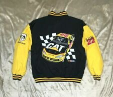 Cat Racing Caterpillar Size Youth Large Coat Jacket Ward Burton