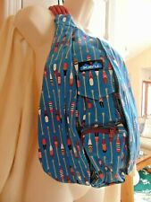 Kavu New W/Tags Shoulder Bag Row House with Oars Back Pack