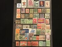 NEW !! Dealer stamp Liquidation Collectors Bargain All Different Free Ship Lot 5
