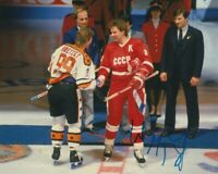 WAYNE GRETZKY SIGNED 1987 RENDEZ-VOUS NHL ALL STAR GAME 8x10 PHOTO! EXACT PROOF!
