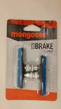 NEW Mongoose BMX Bicycle BRAKE PAD SET Linear Pull PURPLE BLUE RED GREEN 2 PADS