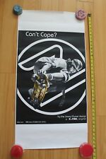 Z-Flex Jimmy Plumer Can't Cope Pool Dogtown Skateboarding 18x36in. Poster