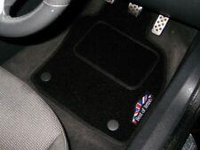 Best Of British Black Car Mats To Fit Jaguar XF (2007-2015) + Logos