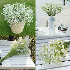 12xFake Artificial Silk Flower Gypsophila Baby's Breath Wedding Party Home Decor