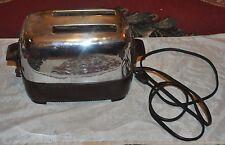 Vintage GE, General Electric, Chrome & Bakelite Toaster, 129T81