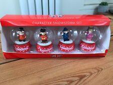 Great Set Of 4 Mini London Uk Snow Globes Brand New Gift Souvenir