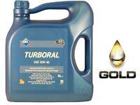 10W 40 ARAL Turboral 5 Liter Motorenöl XMF Technologie LKW öl Nutzfahrzeugeöl