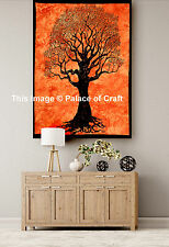 Wall Tapestry Table Cloth Indian Cotton Poster Wall Hanging Tree Of Life Hippie