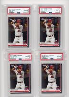 (4) Card Lot 2019 Topps Chrome Update Mike Trout #76 PSA 10 GEM MINT Graded