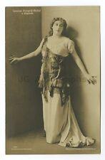 Luise Perard-Petzl - Operatic Soprano - Vintage Silver Print Postcard
