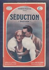 CINEMA-Biblioth. Séduction (Erotikon)/ G. Fronval 1930,  film de G. Machaty 1929
